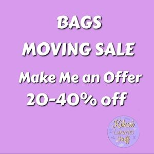 BAGS MOVING SALE Gucci Prada Moschino and MORE